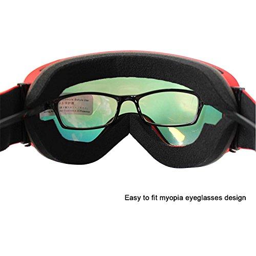 a07342318e0 Copozz Ski Goggles Pro Snowboarding Goggle with UV 400 Double Lens .