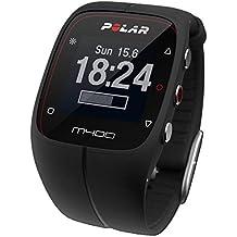 Polar M400 - Reloj de entrenamiento con GPS integrado y registro de actividad, color negro