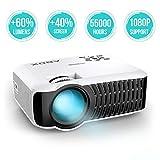 【Nouvelle Version】 ABOX 2400 Lumens Vidéoprojecteur Portable LED LCD...