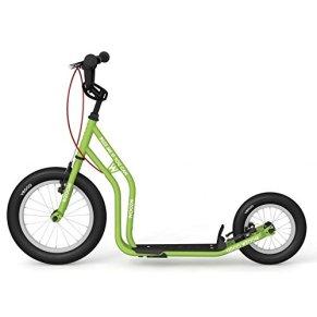 Yedoo New wzoom Green | Niños Roller con neumáticos de aire a partir de 6años | Kick Patinete para Kids | Roller