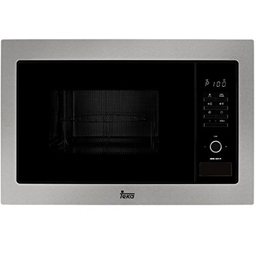 Teka MWE 255 FI – Microondas con grill, 1450 W, color gris y negro