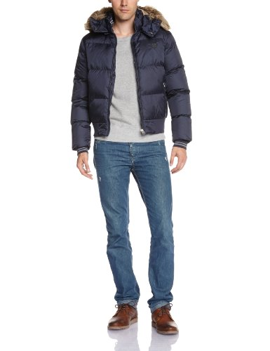 Schott NYC, Uomo, Multicolore (Navy), Small (Taille Fabricant: S Taille Fabricant S)