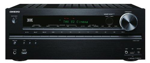 Onkyo TX-NR616 Sintoamplificatore A/V 7.2 THX Select2 Plus (3D Ready, Audio HD, Network, Scaler video 4K, USB x iPod/iPhone) colore: Black
