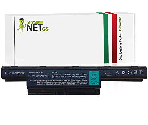 Batería AS10D51 para Laptop Packard Bell Easynote LE / LM / LS / NM / NS / TK / TM / TS / TSX (4400mAh)