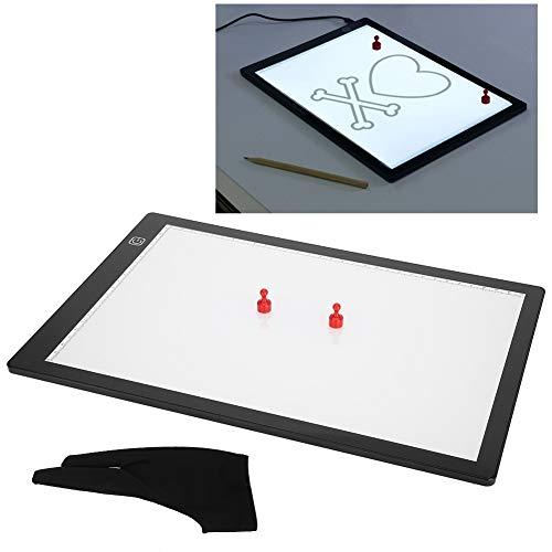 Stencil Board magnetici A4 a forma di lavagna luminosa, pads per copia USB, per tatuaggi animati (3...
