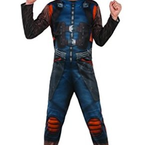 Marvel–i-630777s–Disfraz clásico Rocket con couvre-Bottes/máscara