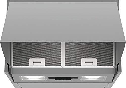 Bosch Serie 2 DEM63AC00 cappa aspirante 360 m³/h Semintegrato (semincassato) Argento D