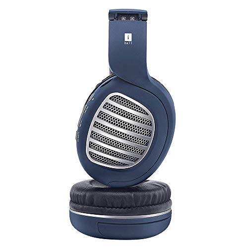 iBall Decibel BT01 Smart Headphone with Alexa Enabled - Blue, Black and Silver