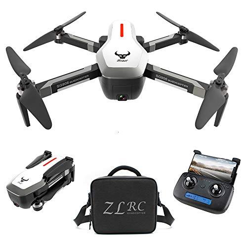 Goolsky SG906 GPS Brushless 4K Drone con Fotocamera Borsa 5G WiFi FPV Pieghevole Flusso Ottico di...