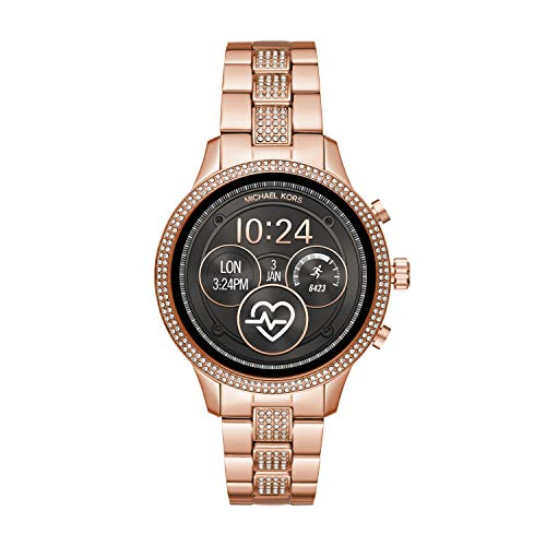 Michael Kors Smartwatch Donna con Cinturino in Acciaio Inox MKT5052