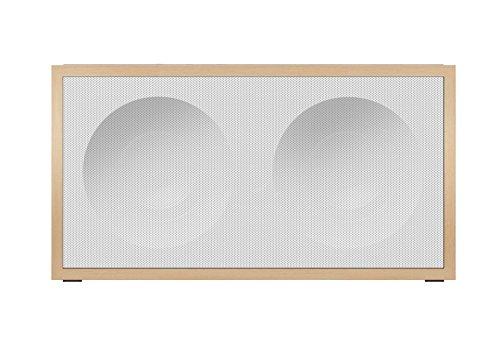 Onkyo NCP-302(W) Multiroom Lautsprecher (Bassreflexgehäuse, WLAN, Bluetooth, Streaming, Musik Apps mit FlareConnect, DTS Play-Fi, Internetradio), Weiss