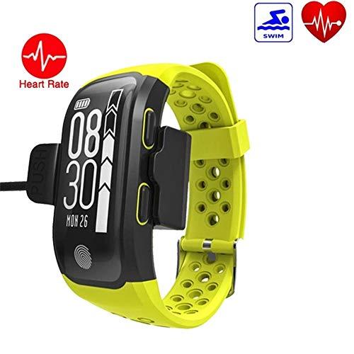 NZYBLTS Bluetooth Orologi Intelligenti GPS Activity Tracker con Frequenza Cardiaca Sonno Monitor...