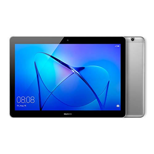 Huawei Mediapad T3 Tablet, Display da 10', 16 GB Espandibili, Quad-Core A53, 2 GB RAM, WiFi, Grigio...