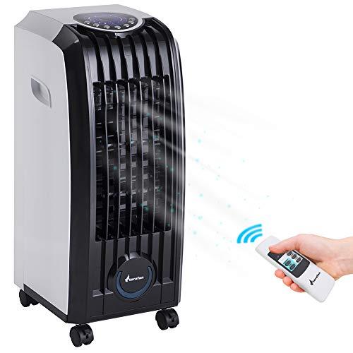 Bakaji Raffrescatore Rinfrescatore Ventilatore Umidificatore d'aria Air Cooler Massima Potenza...