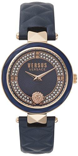 Versus Versace Orologio Analogueico Quarzo Donna con Cinturino in Pelle VSPCD2817