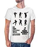 Tee Shirt Je Peux Pas J'Ai FN - Tshirt Cadeau Gamer Jeux vidéo Battle Royale