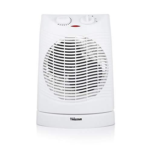 Chauffage électrique à ventilation Tristar KA-5034 - Adapté aux salles de bain - Blanc