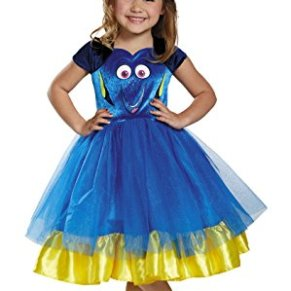 Disguise Dory Toddler Tutu Deluxe Finding Dory Disney/Pixar Costume, Medium/3T-4T by Disguise