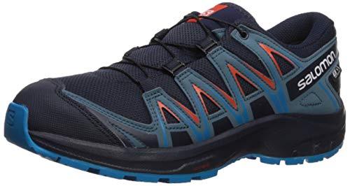 Salomon Kinder XA Pro 3D CSWP J, Trailrunning-Schuhe, Wasserdicht, Blau (Navy...