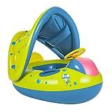Enfants Bébé Siège De Piscine Qziral Bouée Siège Gonflable Anneau de Natation de Bébé avec Parasol pour 6-36 Mois Enfants en Bas Âge