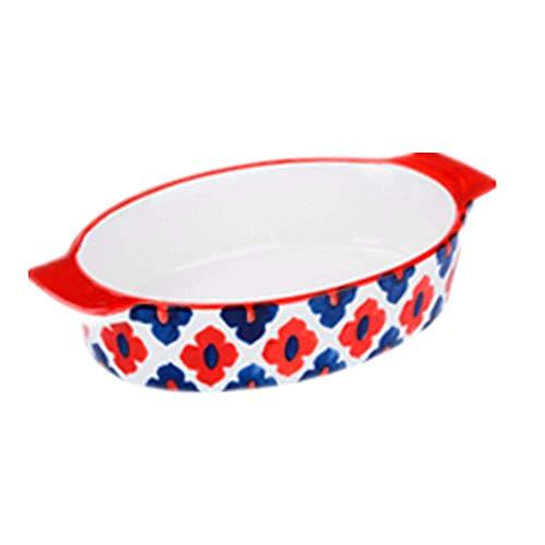 Teglia da Forno Rettangolare Formaggio da Risotto Teglia da Forno in Ceramica da tavola per Uso...