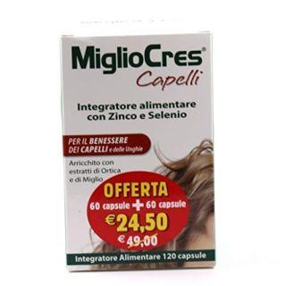 MiglioCres Linea Capelli Integratore Capelli