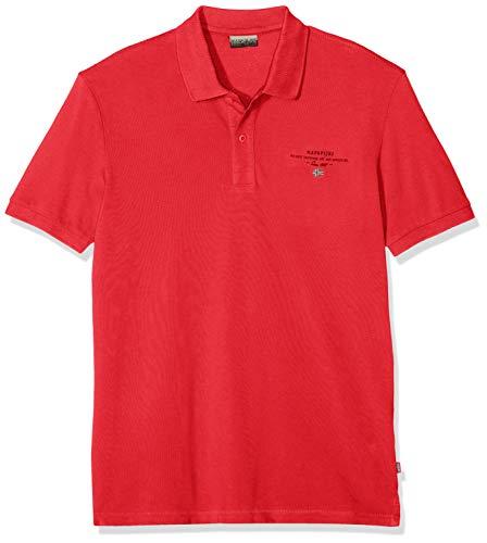 NAPAPIJRI Elbas 2 Polo, Rosso (True Red R70), Large Uomo