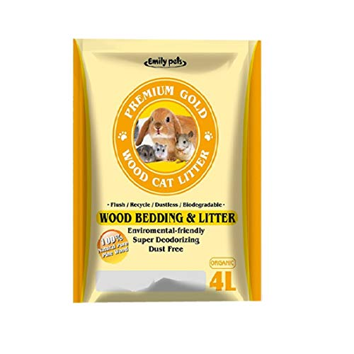 Emily Pets Pine Wood Cat Litter 4 LTR