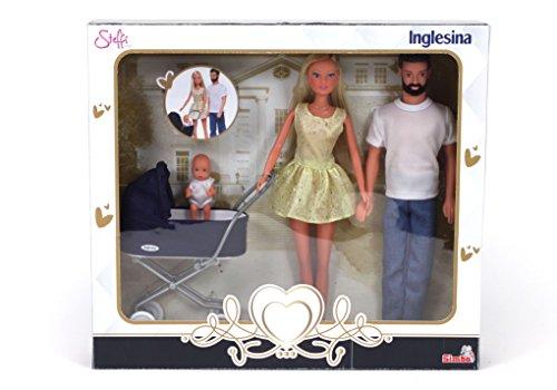 Simba Steffi Love Inglesina Famiglia con Carrozzina, 105733283