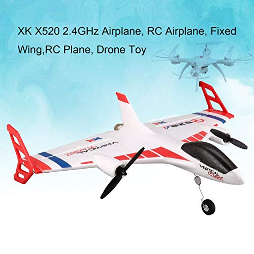 Dailyinshop XK X520 6CH 3D/6G 720 FPV Camera RC Airplane Drone Vertical Takeoff Land Drone