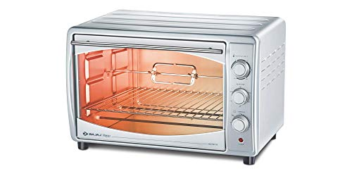 Bajaj Majesty 4500 TMCSS 45-Litre Oven Toaster Grill (Silver)