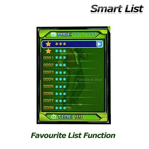 SeeKool Pandora 11 Console de Jeux vidéo Arcade, 2255 en 1 Console de Jeux vidéo HD Retro, Commandes de Jeu à 2 Joueurs Double Stick Arcade ... 24