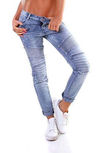 OSAB-Fashion 4927 Karostar by Lexxury Damen Jeans Hose Röhre Hose...