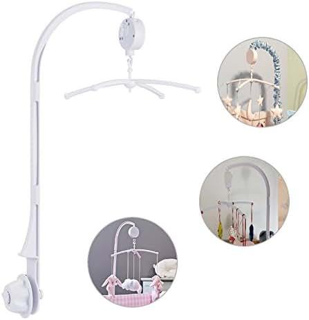 TBoonor Baby Spieluhr Musikmobile Baby Krippe Mobile Bett Glocke mit Halter Arm Halterunund für Babybett und Kinderbett