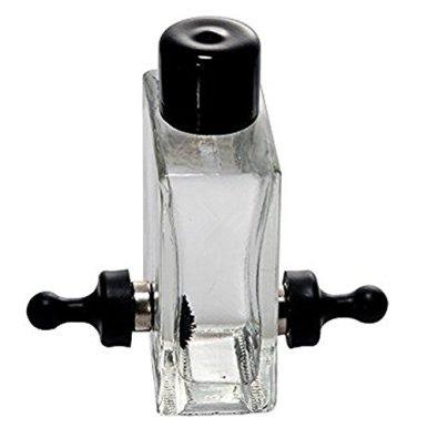 Ailiebhaus-Ferrofluid-in-der-Flasche-magnetische-zylindrische-Glasflasche-Display-Spielzeug