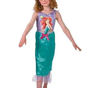 DISBACANAL Disfraz Sirenita Ariel Infantil - -, 5-6 años