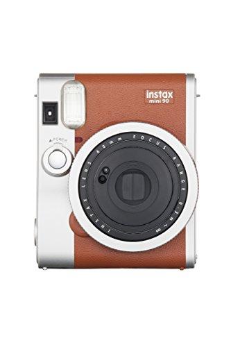 Fujifilm - Instax Mini 90 Neo Classic - Appareil Photo Instantané - Marron Clair