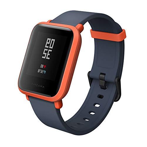 AMAZFIT Bip Xiaomi Smartwatch Monitore de activida Pulsómetro Ejercicio Fitness Versión Internacional Orange