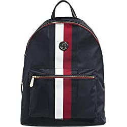 Tommy Hilfiger, POPPY BACKPACK CORPORATE AW0AW06861901, mochila azul marino para mujer