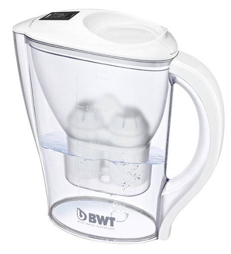BWT Initium 2.5L water filter jug with cartridges bundle (white) (1 month of BWT Mg2+ Longlife) (1 cartridge)