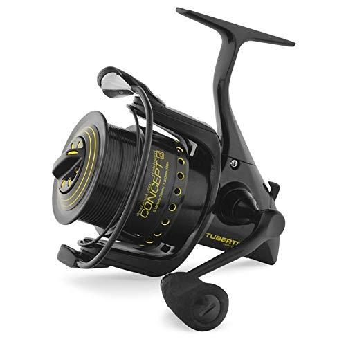 Ryobi Tubertini Mulinello da Pesca Concept D 2500 Normal Spool con Frizione Anteriore Precisa e Potente da Spinning Bolognese Feeder Fondo Mare Trota Lago Leggero e Affidabile