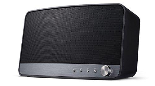 Pioneer MRX-3-B Wireless Multiroom Lautsprecher (Streaming, WLAN, Bluetooth, Musik Apps mit FlareConnect, DTS Play-Fi, Internetradio, Pioneer Remote-App) Schwarz
