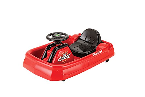 Razor Lil Crazy, Electric Vehicles Children, Rosso, 68.07 X 46.74 X 29.97