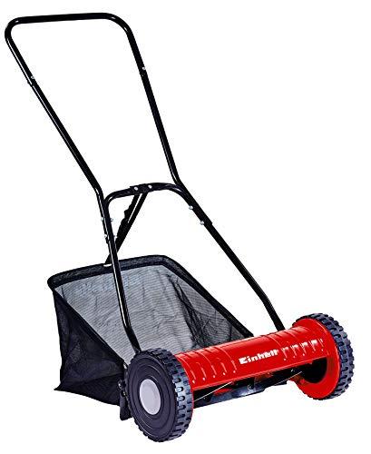 Einhell GC-HM 40 Manual Hand Push Lawn Mower, 27 L - Multi-Colour