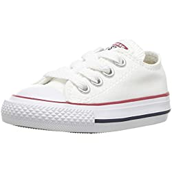 Converse Chuck Taylor All Star Core Ox, Unisex-Kinder Lauflernschuhe, Weiß (Blanc Optical), 23 EU