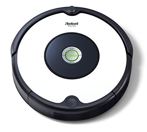 iRobot Roomba 605 Robot Aspirapolvere, Sistema di Pulizia ad Alte Prestazioni, Adatto a Pavimenti e Tappeti, Ottimo per i Peli degli Animali Domestici, 33 watt, Bianco