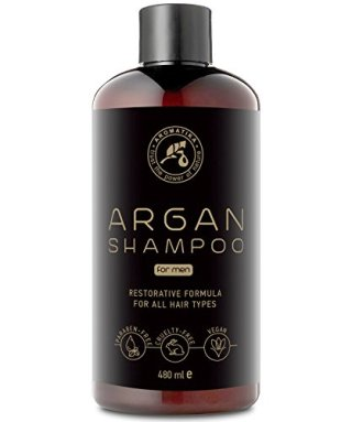 Shampoo Olio Di Argan Uomo 480ml