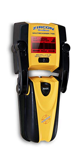This device is one of the more high tech stud finders with some of the most sophisticated features. It offers 4 scanning modes including 'STUD', 'DEEP', 'METAL', and 'AC' mode which runs consistently along the other modes. So it will not only locate wood studs, metal, and joists but also find live, unshielded electrical wires.