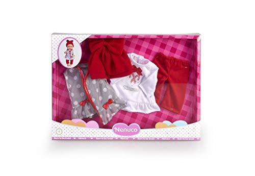 Nenuco- Pacchetto Inverno Deluxe Abbigliamento Accessori per Bambola, Multicolore, 700015382
