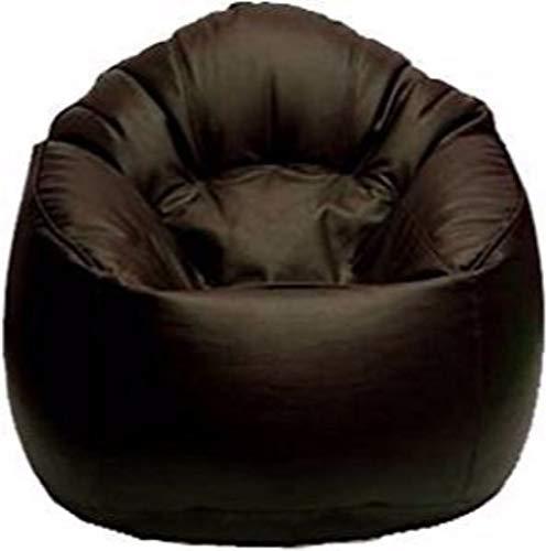 Madaar Homez Artificial Leather Sofa Mudda All (Jumbo, Brown)